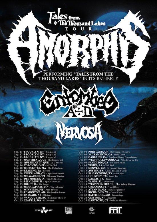 Amorphis 2020 Tour