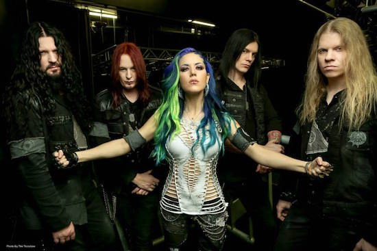ARCH ENEMY Released Music Video For Debut Single 'The World Is Yours'