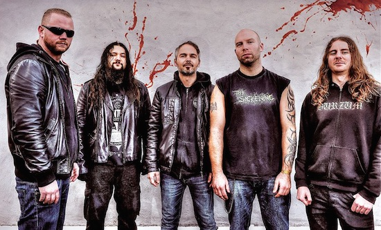 BLOOD RED THRONE Unleashed Lyric Video for 'Revocation Of Humankind'
