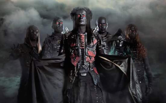 CRADLE OF FILTH Released Video for 'Right Wing Of The Garden Triptych'