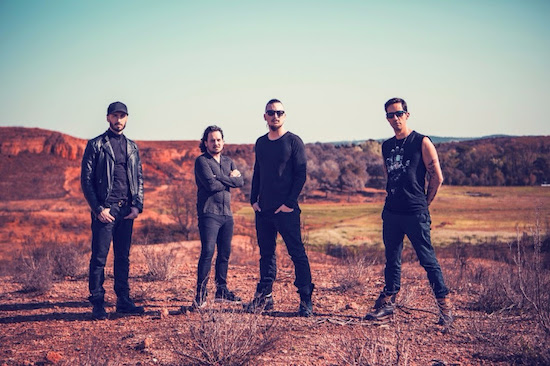 DAGOBA Premiere Video for 'Inner Sun'