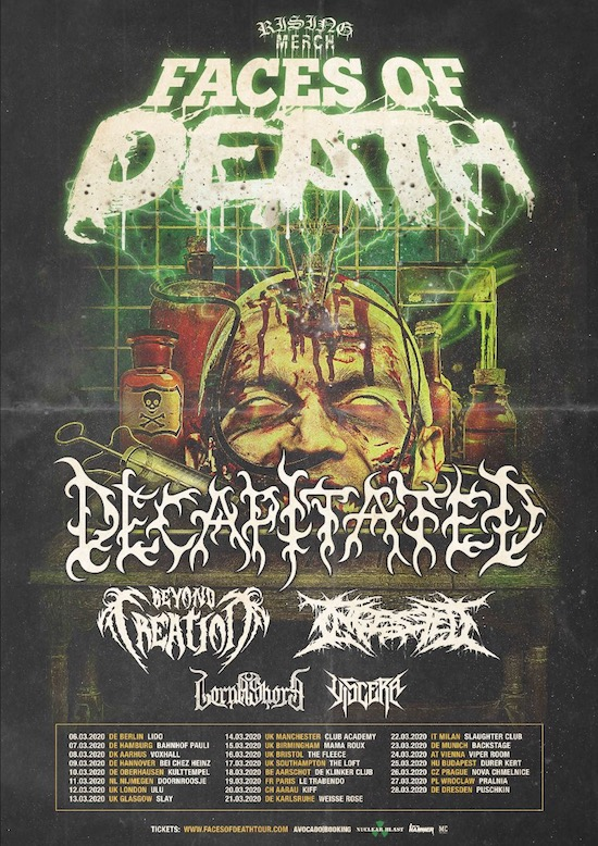 Decapitated 2020 Tour