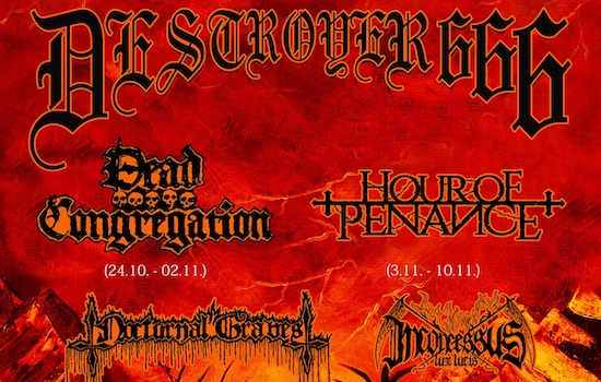 DESTRÖYER 666 announce European