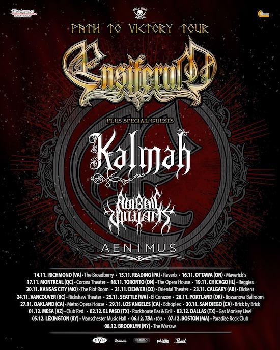 Ensiferum 2019 Tour