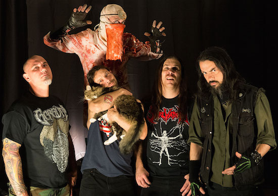 EXHUMED Share New Music Video for 'Lifeless'