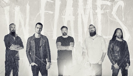 IN FLAMES Premier New Video for 'The End'