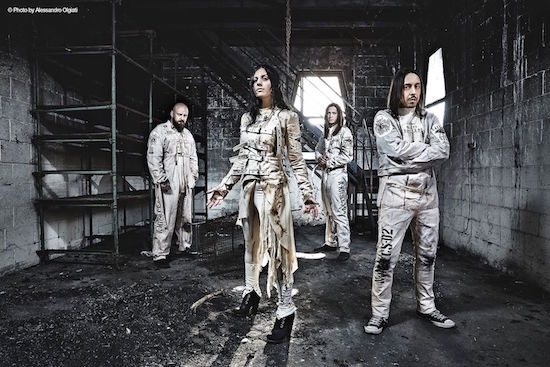 LACUNA COIL Launched Lyric Video for 'The House Of Shame'