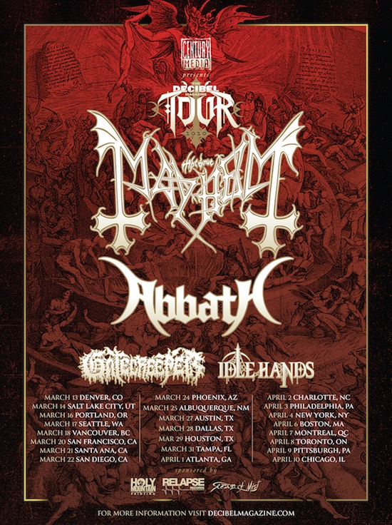 Mayhem 2020 Tour