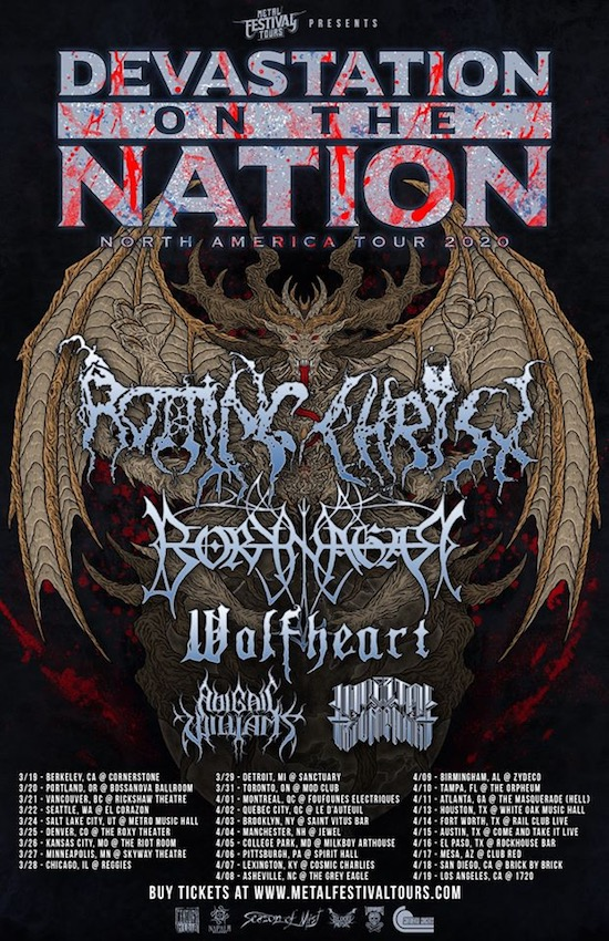 RottingChrist Tour 2020