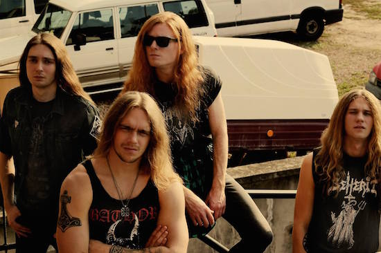 THUNDERWAR Premier Single 'Black Storm Will Unfold'