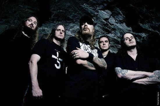 AT THE GATES Launches Video for 'The Book Of Sand (The Abomination)'