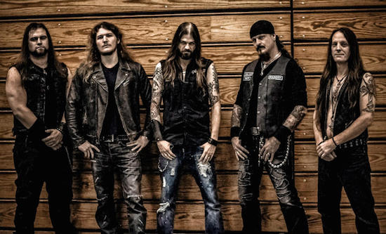 ICED EARTH Debut New Music Video Single 'Black Flag'