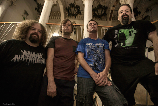 NAPALM DEATH Debut Video Clip for 'How The Years Condemn'