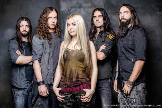 THE AGONIST Launch 'Follow The Crossed Line' Video
