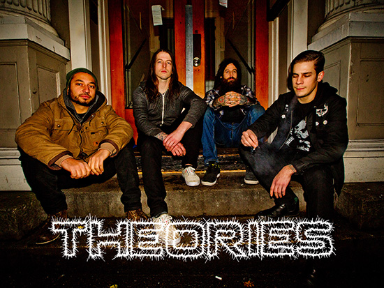 THEORIES Debuts New Lyric Video for 'Burnt Concrete'